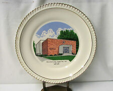 Merchantville Lodge No.119 F. & A.M. Centennial Commemorative Plate ~1871 - 1971