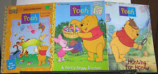1990's Golden Books Winnie The Pooh Coloring & Activity Books Easter Special Ed