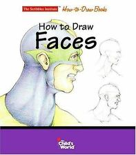 How to Draw Faces (Scribbles Institute How-To-Draw Books)-ExLibrary