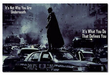 Batman The Dark Knight Rises Motivational Quotes Silk Fabric Poster 13x20""