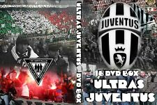 COFANETTO 16 DVD ULTRAS JUVENTUS || FIGHTERS ||DRUGHI || CURVA SUD ||BIANCONERI