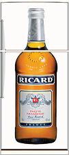 Sticker frigo électroménager déco cuisine Ricard 70x170cm réf 1680