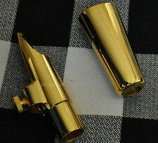 Perfect Metal Alto Saxophone Mouthpiece Gold Size 5-9