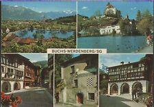 Alte Postkarte - Buchs-Werdenberg/SG