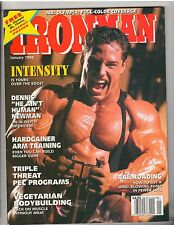 IRONMAN bodybuilding muscle magazine/DENNIS NEWMAN/Paul DeMayo/Yates poster 1-94