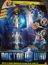 DOCTOR WHO DALEK VS CYBER CONTROLLER  COMBAT SET NEW AND BOXED - Shop soiled