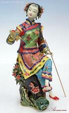 Oriental Chinese Woman - Porcelain Lady Figurine