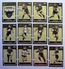 2009 NRL PENRITH PANTHERS SELECT CLASSIC TRADING CARDS FULL SET 12 Cards