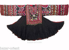 antik Afghanistan nuristan Frauen Kleid afghan woman embroidered Dress jumlo N-6