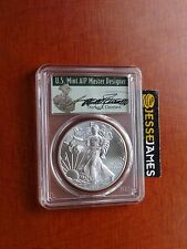 2017 (W) SILVER EAGLE PCGS MS70 THOMAS CLEVELAND FIRST DAY OF ISSUE FDOI NR!
