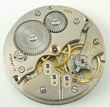 Solar Pocket Watch Movement - 21 Jewel  Unitas 343 - Spare Parts / Repair!