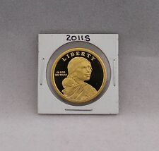 2011 S Proof Deep Cameo (DCAM) Native American Sacagawea Golden $1 Dollar
