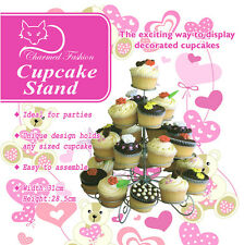 23 Count 4 Tier Cupcake Dessert Holder Stand (FREE SHIPPING)