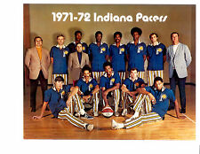 1971 1972 ABA INDIANA PACERS 8X10 TEAM  PHOTO  BASKETBALL MCGINNIS HOF
