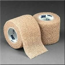 "Coban 3M Self Adherent Wrap Bandage Sports Tape 2"" Roll"
