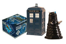 2453 Dr. WhoTardis vs Dalek Salt & Pepper Shaker Set  Sci Fi Series Kitchen