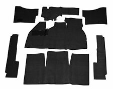 EMPI  VW BUG BEETLE BAJA CARPET KIT 69-72 WITH  FOOT REST ,BLACK 3910