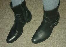 Russell & Bromley black leather ankle boots- size 6/ 39. EXCELLENT CONDITION