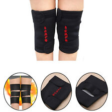 1 Pair Heating Kneepad Magnetic Belt Self Therapy Support Heating Knee Massager