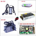 6A 10A 20A 30A 12V Power Supply Charger Transformer 3528 5050 LED Strip Adapter