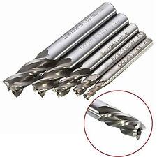 5pc HSS-Al CNC 4 Flute End Mill Cutter Drill Bit Milling Tool 4/6/8/10/12mm SG
