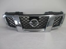 OEM 09-14 NISSAN FRONTIER FRONT CHROME GRILL GRILLE with EMBLEM  62310ZL00B
