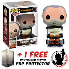 FUNKO POP SILENCE OF THE LAMBS HANNIBAL LECTER VINYL FIGURE + FREE POP PROTECTOR