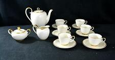Vintage K & A Krautheim 15 Piece Tea Set - Selb Bavaria Germany - Service For 6
