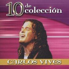 FREE US SH (int'l sh=$0-$3) USED,MINT CD Carlos Vives: 10 De Coleccion Original