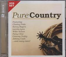 PURE COUNTRY - VARIOUS ARTISTS on 2 CD's - NEW -