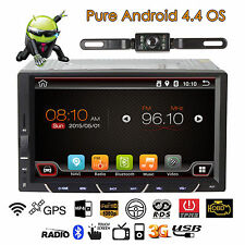 7Inch 2DIN Android4.4.4 Car Stereo Audio Wifi GPS Touch Screen In Dash Player