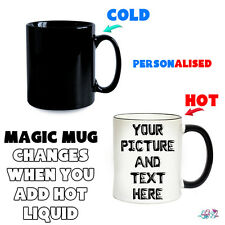 Personalised Magic Mug | Colour Changing Mugs | Add Own Image And Text | Gift
