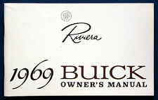 Owner's Manual * Betriebsanleitung 1969 Buick Riviera     (USA)