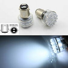 2x 24 LED 1157 bay15d 6V White Car Bulb Stop/Tail/Brake/Reverse/Rear Lights Lamp