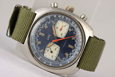 vintage chronograph Lov! Big case!!! Top Valjoux 7733 movement! Swiss Made!
