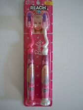 BARBIE REACH KIDS' TOOTHBRUSH FOR BARBIE LOVERS ( WELCOME ADULTS ! ) CUTE !  L4