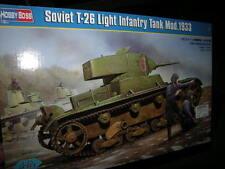 1:35 Hobby Boss Soviet T-26 Light Infantry Tank Mod.1933 OVP
