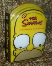 THE SIMPSONS THE COMPLETE SIXTH SEASON COLLECTORS EDITION, VERY RARE, NEW,SEALED