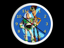 Toy Story Buzz And Woody Wall Clock Can be Personalised