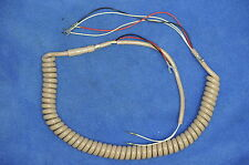 "Replacement Handset cord for Western Electric - Hard Wired 4-Conductor Style ""G"""