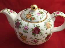 Royal Albert Doulton Old Country Rose Classic IV Chintz TEAPOT