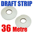 36M Foam Window Door Draft Draught Excluder Weather Strip Insulation Roll