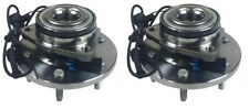 PAIR 2 NEW Front Wheel Hub & Bearing Assemblies fit 06-10 Hummer H3 w/ABS 515093