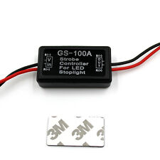 LED Brake Tail Stop Light Flash GS-100A Strobe Controller Box Flasher Module