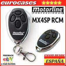md42 mando de garaje MOTORLINE MX4SP RCM rolling code original 433,92 mhm