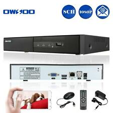 OWSOO 8CH 1080P NVR for Wireless CCTV System Motion Detection P2P Could US L4D9