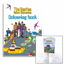 The Beatles - Yellow Submarine 20 Page Colouring Book - Nuovo & Ufficiale Apple