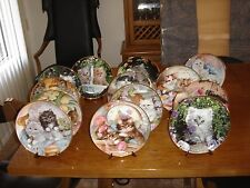 LOT OF 13 THE FRANKLIN MINT HEIRLOOM COLLECTION & RECOMMENDATION CAT PLATES