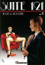 Comics für Erwachsene-Suite 121 Chambre-Erotik Olaf Boccère+Igor selten Fetisch