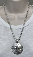 Premier Designs Jewelry NEW SEASONS Necklace 20675 Silver Crystal Enhancer 3-n-1